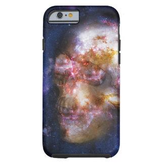 Cráneo humano en las estrellas funda de iPhone 6 tough
