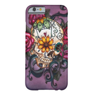 Cráneo humano funda de iPhone 6 barely there