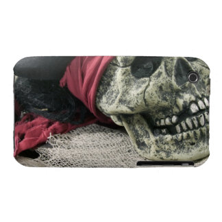 Cráneo humano iPhone 3 Case-Mate carcasa