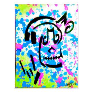 Cráneo I de la música Postal