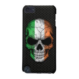 Cráneo irlandés de la bandera en el gráfico de ace carcasa para iPod touch 5G