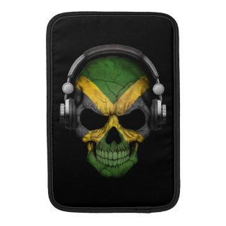 Cráneo jamaicano adaptable de DJ con los Funda MacBook