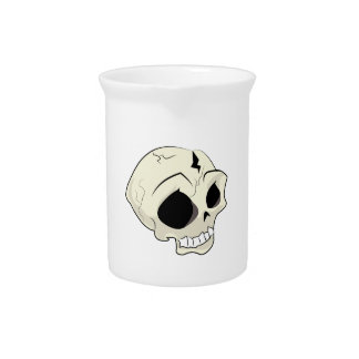 Cráneo Jarra Para Bebida
