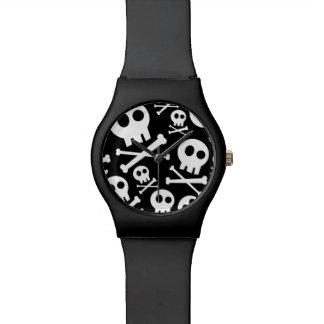 Cráneo lindo relojes de pulsera
