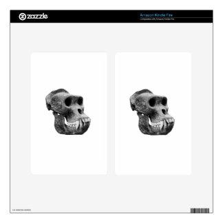 Cráneo los gorilas skin para kindle fire