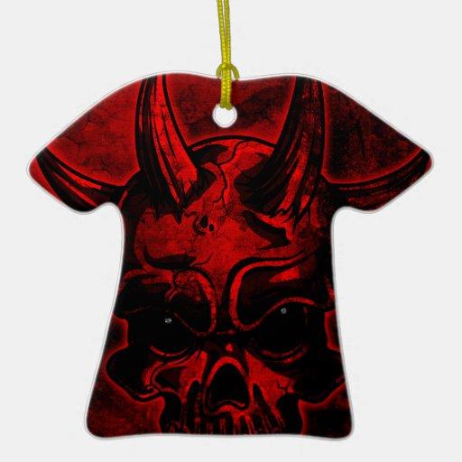 Cráneo malvado ornamento para reyes magos