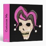 Cráneo malvado del bufón (rosa)