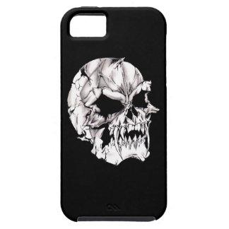 Cráneo malvado del vampiro iPhone 5 funda