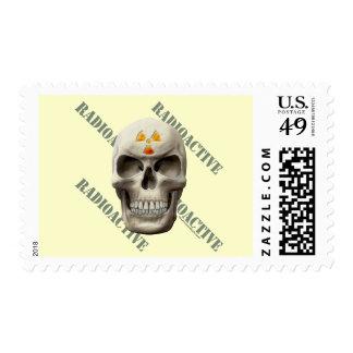 Cráneo malvado radiactivo envio