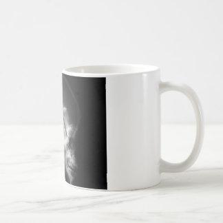 Cráneo masónico del extranjero de la radiografía tazas de café