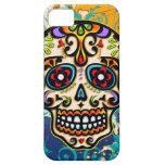 Cráneo mexicano del azúcar, día de los muertos iPhone 5 protector