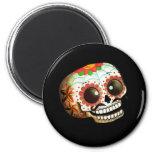 Cráneo mexicano del azúcar imanes