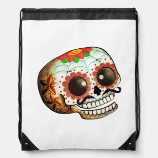 Cráneo mexicano del azúcar mochilas