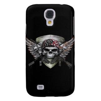 Cráneo militar con la guerra cruzada del Special Samsung Galaxy S4 Cover