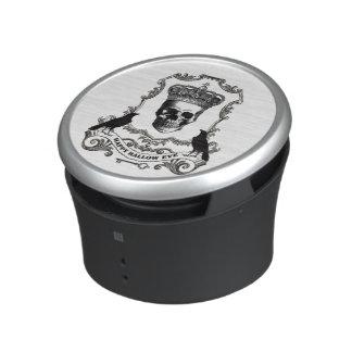 Cráneo moderno de Halloween del vintage con la Altavoz Bluetooth