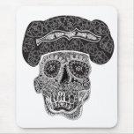 Cráneo Mousepad de Matador Tapete De Ratón