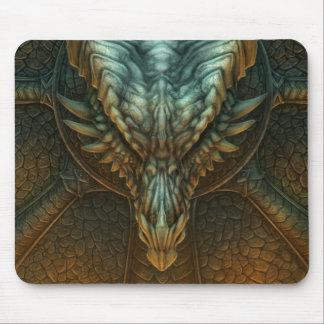 Cráneo Mousepad del dragón Tapete De Raton