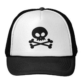 Cráneo-negro Gorras De Camionero