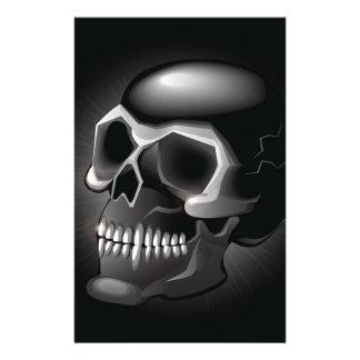 Cráneo negro  papeleria