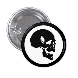 Cráneo negro pin
