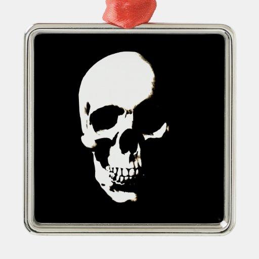 Cráneo Ornamento De Navidad