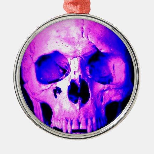 Cráneo Ornaments Para Arbol De Navidad