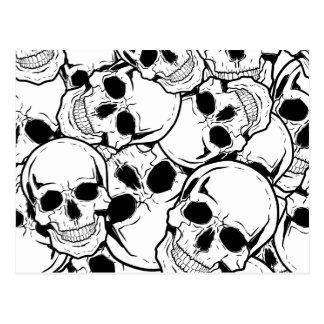 Cráneo oscilante postales