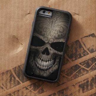 Cráneo oscuro adornado funda de iPhone 6 tough xtreme
