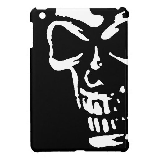 Cráneo oscuro - mini caso del iPad iPad Mini Protector
