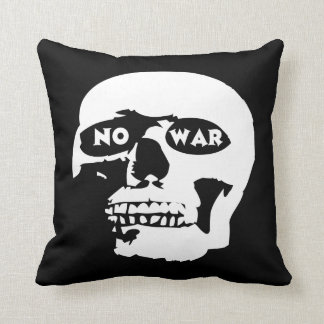 Cráneo pacifista cojines