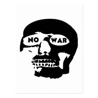Cráneo pacifista tarjetas postales