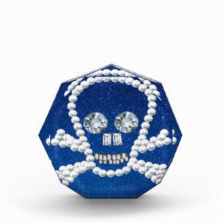 cráneo, perlas