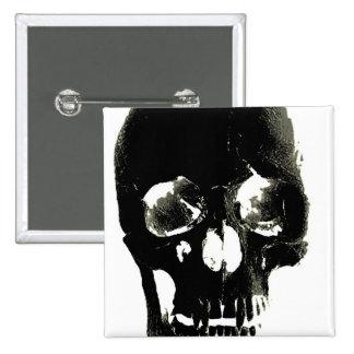 Cráneo Pin Cuadrado