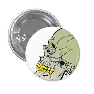 Cráneo Pin Redondo De 1 Pulgada