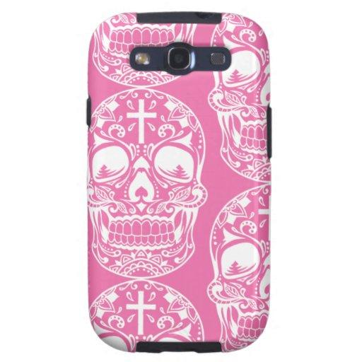 Cráneo Pink.png del azúcar Galaxy SIII Carcasas
