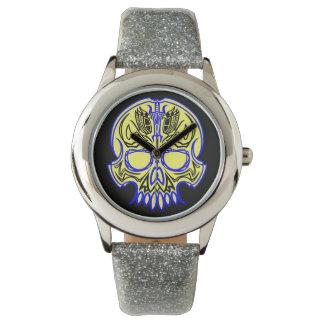 Cráneo Pinstriping Relojes