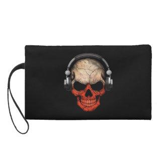 Cráneo polaco de DJ del personalizable con los