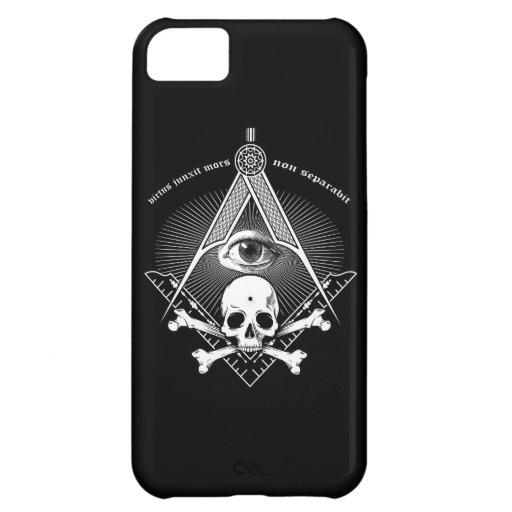 Cráneo principal del caso del iphone del albañil carcasa iPhone 5C