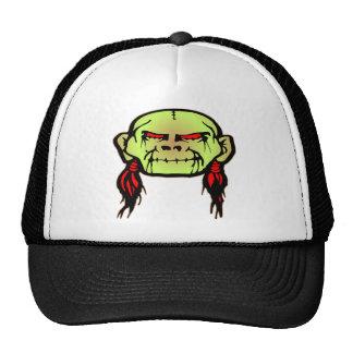 Cráneo principal encogido zombi gorras