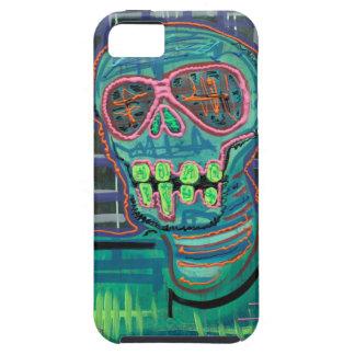 Cráneo psicodélico iPhone 5 Case-Mate protectores