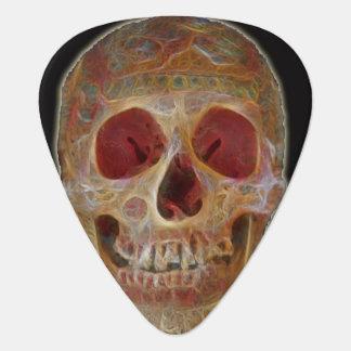 Cráneo Púa De Guitarra