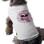 Cráneo punky femenino camiseta de mascota