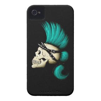 Cráneo punky iPhone 4 carcasa