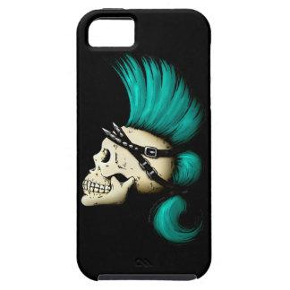 Cráneo punky iPhone 5 fundas
