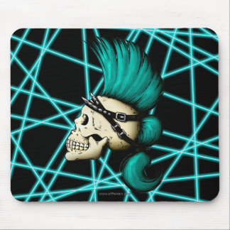 Cráneo punky mouse pad