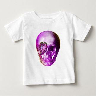 Cráneo púrpura de la tarjeta del día de San Playeras
