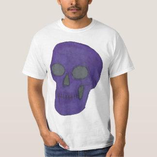 Cráneo púrpura poleras