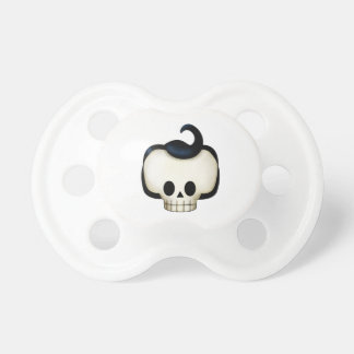 Cráneo rebelde chupetes de bebé
