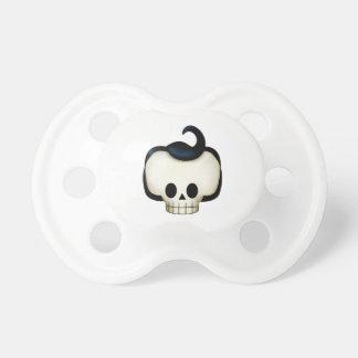 Cráneo rebelde chupetes de bebe