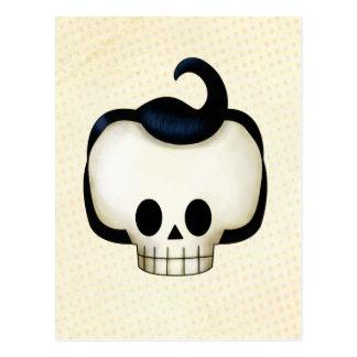 Cráneo rebelde tarjetas postales
